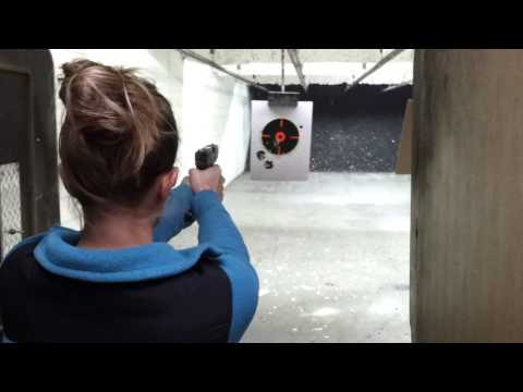 Wife vs. Glock 29... 10mm!!