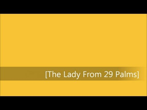 Frank Sinatra - The Lady From 29 Palms