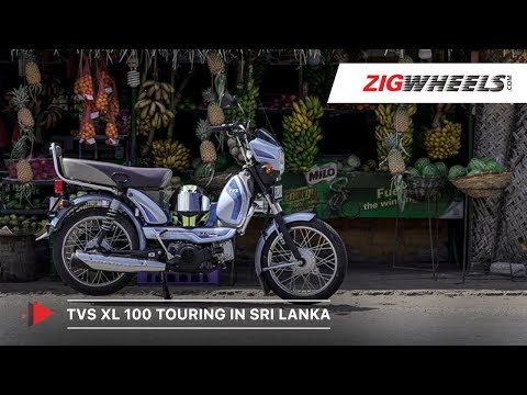 TVS XL100 Comfort Touring in Sri Lanka | 700 km Road Trip | ZigWheels