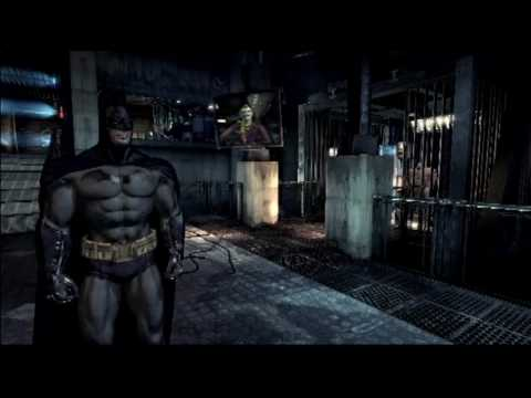 Batman Arkham Asylum Demo W/ Commentary P.1