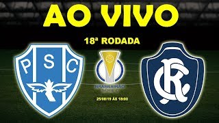 Paysandu x Remo Ao Vivo HD Brasileiro Srie C 18 Rodada 250819