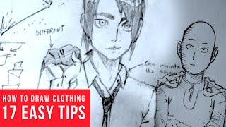 How To Draw Clothing Wrinkles & Folds [17 EASY TIPS!]