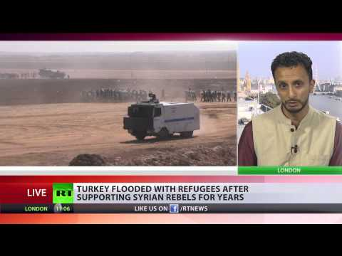 'Turkey opens border to death squads to fight in Syria, blocks Kurds battle ISIS'