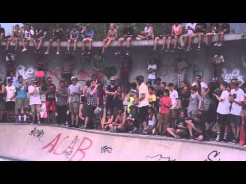 Tony Hawk and Birdhouse Team on European Vacation - Hirschgarten - Munich, Germany