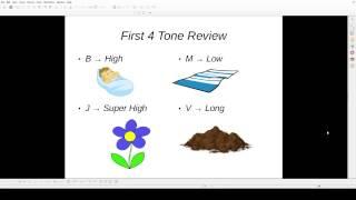 Hmong Literacy - Lesson 02: Tones