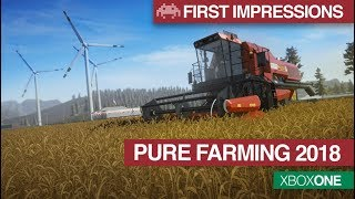 First Impressions: Pure Farming 2018 | Xbox One