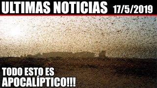 Ultimas Noticias, VOLCANES ACTIVOS, SISMOS, CLIMA SEVERO y más información 17/5/2019