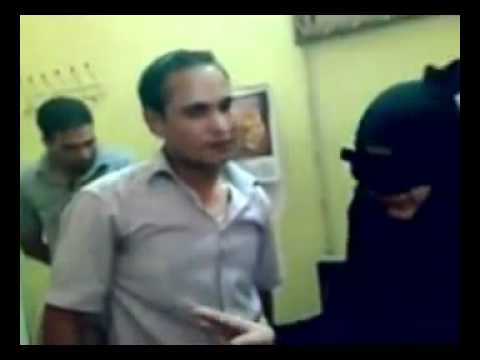 Shiaa' Police brutality against women in south Iraq.FLV