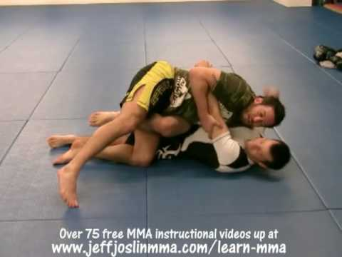 BJ Penn Guard Pass #3 of 5 - Jeff Joslin Breaks down the BJJ technique Image 1