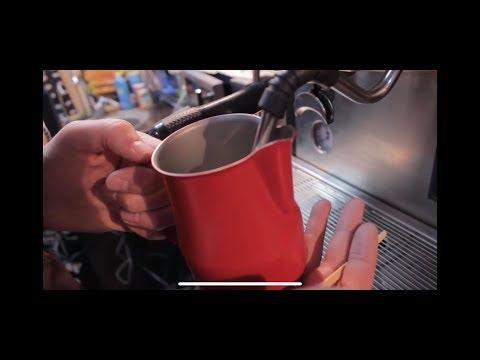Как Взбить Молоко для Капучино в Маленьком Питчере 350 мл