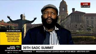 39th SADC Summit in Tanzania: Preview with Dr. Mpofu