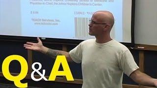 Gary Yourofsky's Speech: Q&A Session