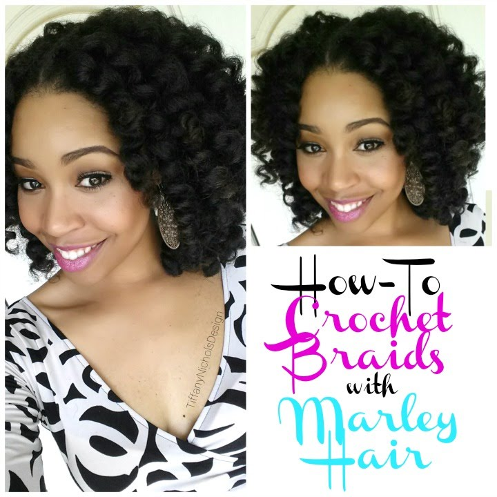 Crochet Marley Hair Youtube : 62. How To: Crochet Braids w/ Marley Hair - YouTube