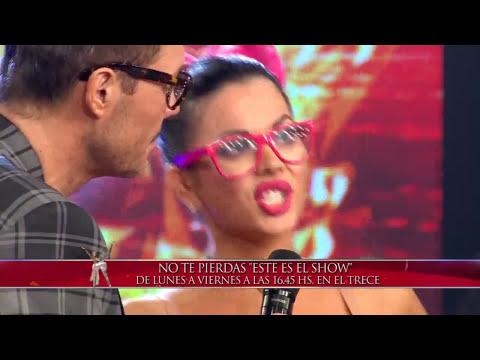 Showmatch 2014 - La increíble previa de Karina Jelinek: Golpe a Marcelo y beso a Magaldi