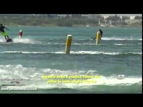 Erika Fernandez en JetSurf CANCUN | JetSurf, the ultimate nautic sport in Mexico