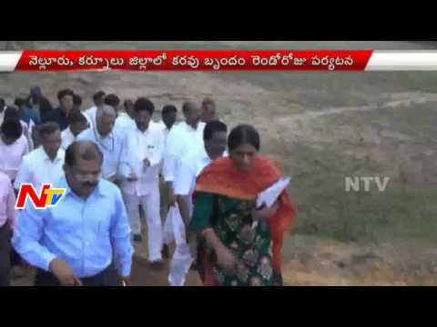 Central Team Visits Drought and Flood Affected Areas in Nellore