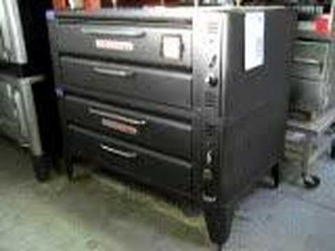 For Sale 962 Blodgett Pizza Ovens Double Stack Natural Gas