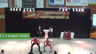 Jennifer Schmaus & Heiko Drescher - LM Baden-Württemberg & Hessen 2017