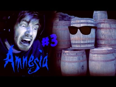 WHY I HATE BARRELS! - Amnesia: Custom Story - Part 3 - Baldo
