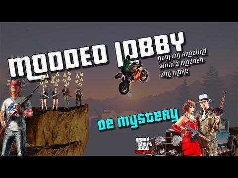 GTA V online modded lobby funn with peirce an hamas aka queef (Ps3)