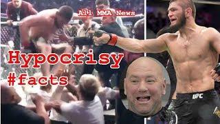 Khabib Nurmagomedov vs. Conor McGregor - #facts HYPOCRISY in the UFC