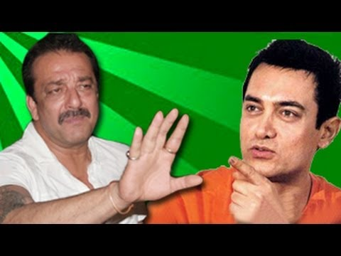 Sanjay Dutt MIFFED with Aamir Khan