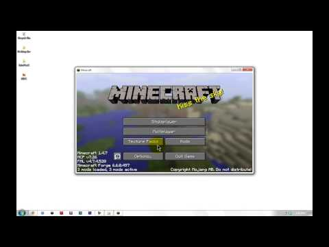 How to Install Minecraft Forge (1.4.6 - 1.4.7)