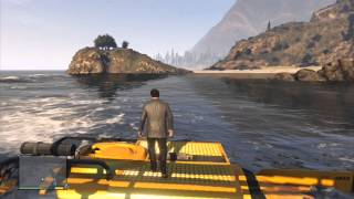 How to get the submarine and scuba gear in GTA 5