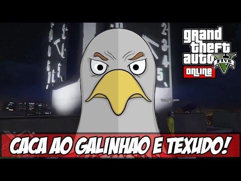 GTA V Caça ao GALINHÃO E TEXUDÃO Ps4