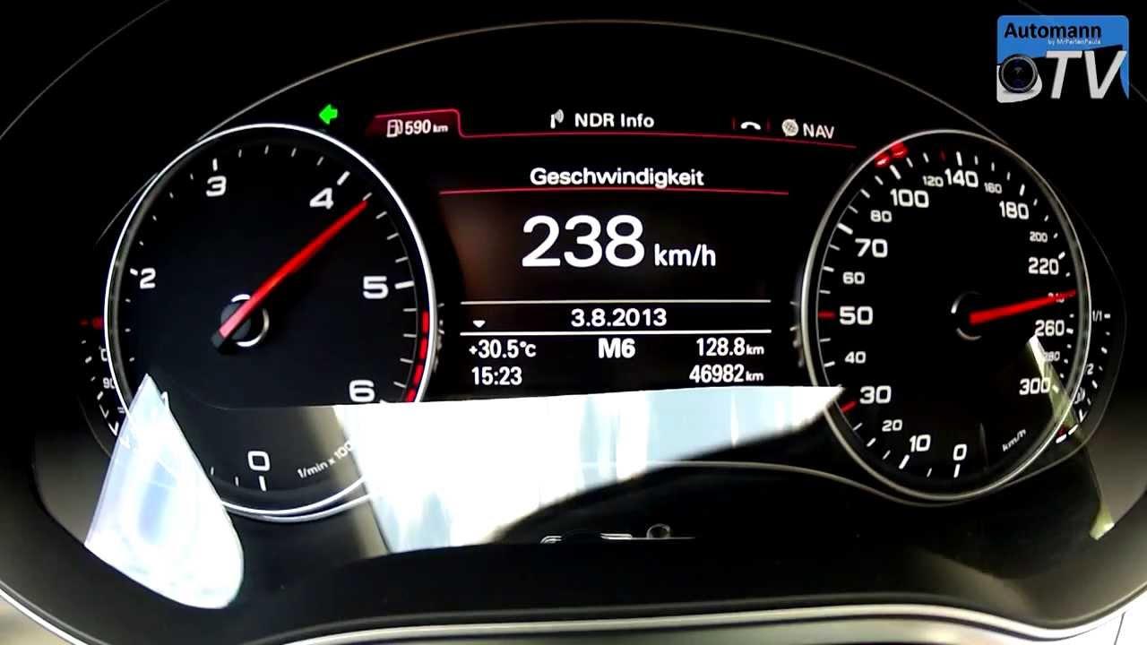 2013 Audi A7 3 0 Biturbo Tdi 313hp 0 250 Km H