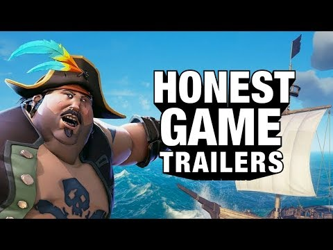 SEA OF THIEVES (Honest Game Trailers)