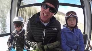Forcing My Kids To Ski, by Lif