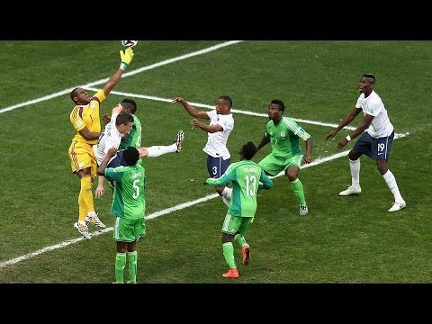 France 2 - 0 Nigeria : Highlights World Cup 2014  : Round of last 16