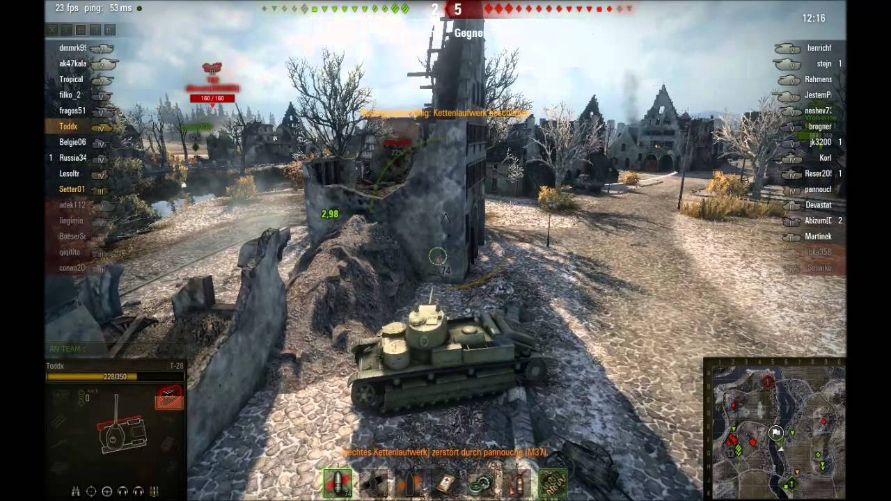 tank spielen