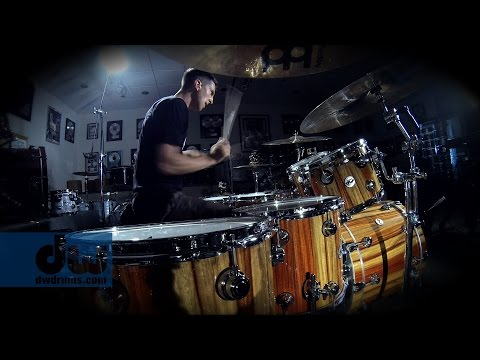 JP Bouvet plays DW Drums (100% GoPro)
