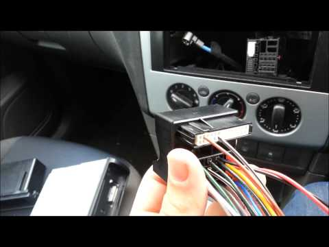 Ford Focus 2005 (Mark 2) Radio Removal / Installation