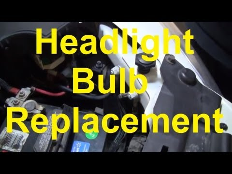 How To Replace The Headlight Bulbs On Your Car