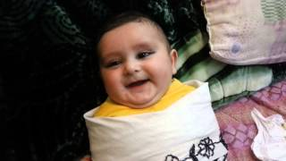 Cute Afghan Baby best laughing ever , must watch.m