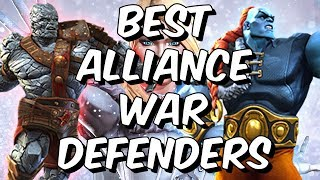 Best Alliance War Defenders December 2018 - Seatin's Tier List - Marvel Contest Of Champions