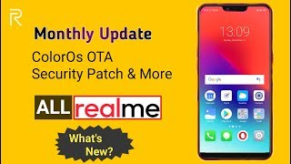 New Software Updates in All RealMe Devices at December & January Update