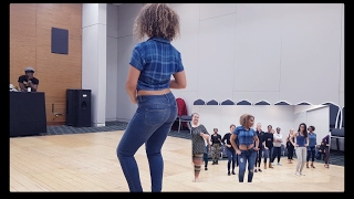 Kizomba Ginga workshop by Sarah Amaro Kizombalove - Lady Styling