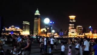 Nice vibe on the river banks of Shanghai China