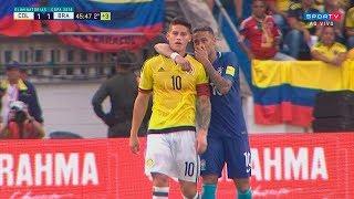 Neymar vs Colombia (Away) HD 720p (05/09/2017)