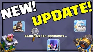 NEW Clouds NEW Levels NEW Changes! Clash of Clans UPDATE Sneak Peek!