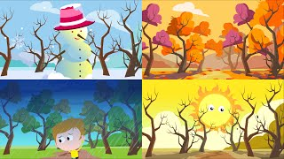Seasons Song | The Four Seasons Song For Children
