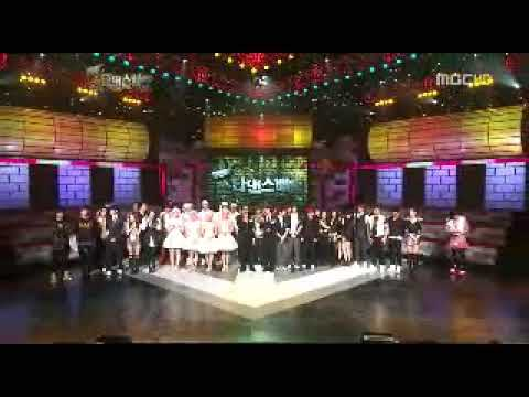 Super Junior Dance Battle+ending Mbc Star Dance Battle 090125 video