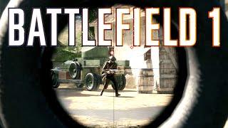 BATTLEFIELD 1 NEW SNIPER GAMEPLAY!