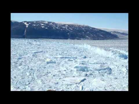 Time Lapse Of Ice Sheet Melt In Greenland (1)