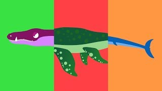 ANIMAL MATCH UP ! Learn Dinosaur Names | Baby Learn Sea Animals Names For Kid