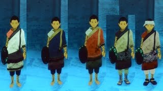 The Last Guardian All Character Costumes